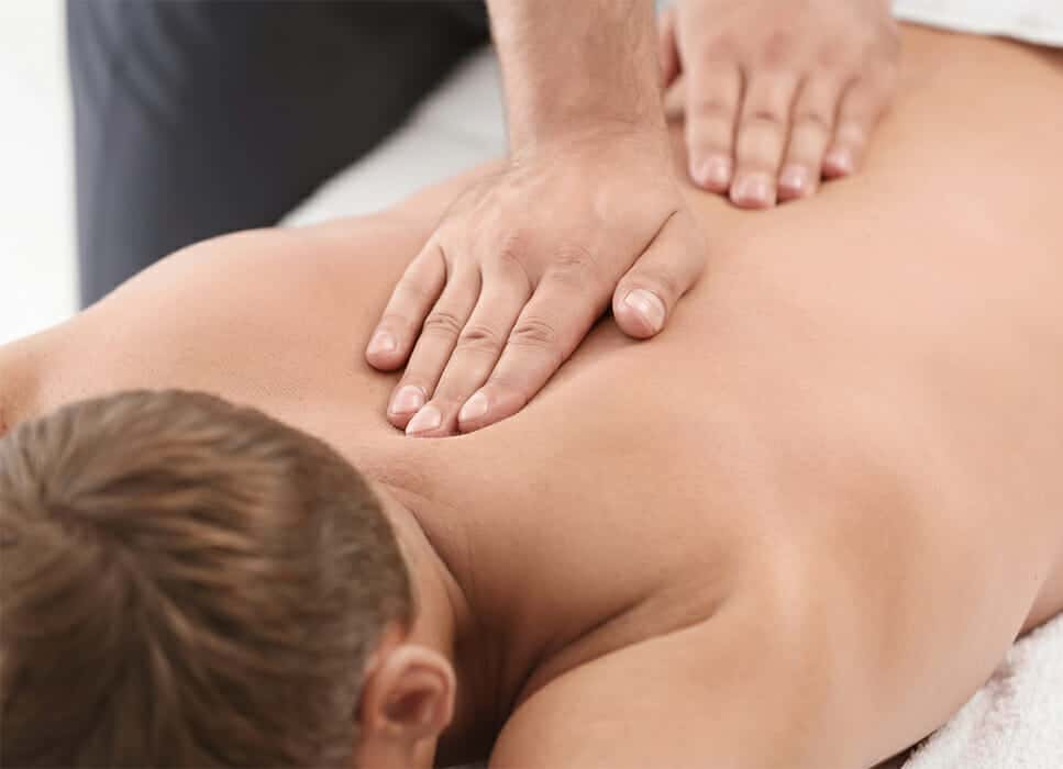 Massagehjemme rygmassage